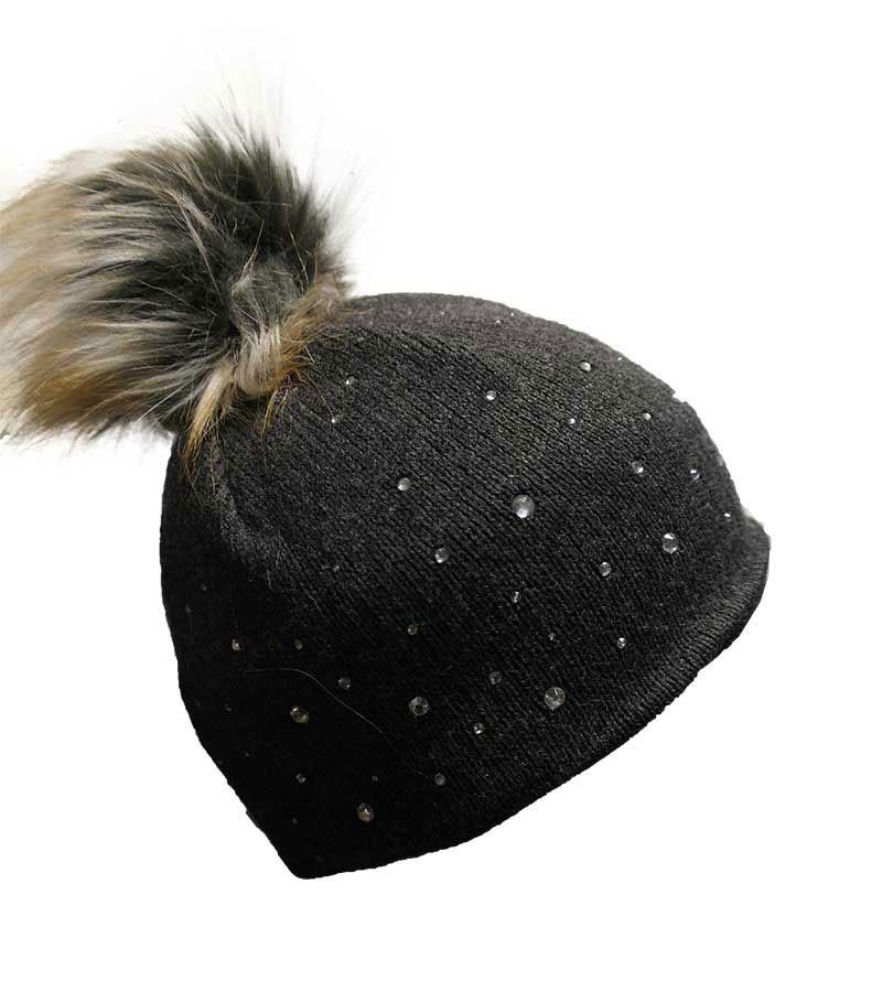 SOLIBI- Mütze - anthrazit