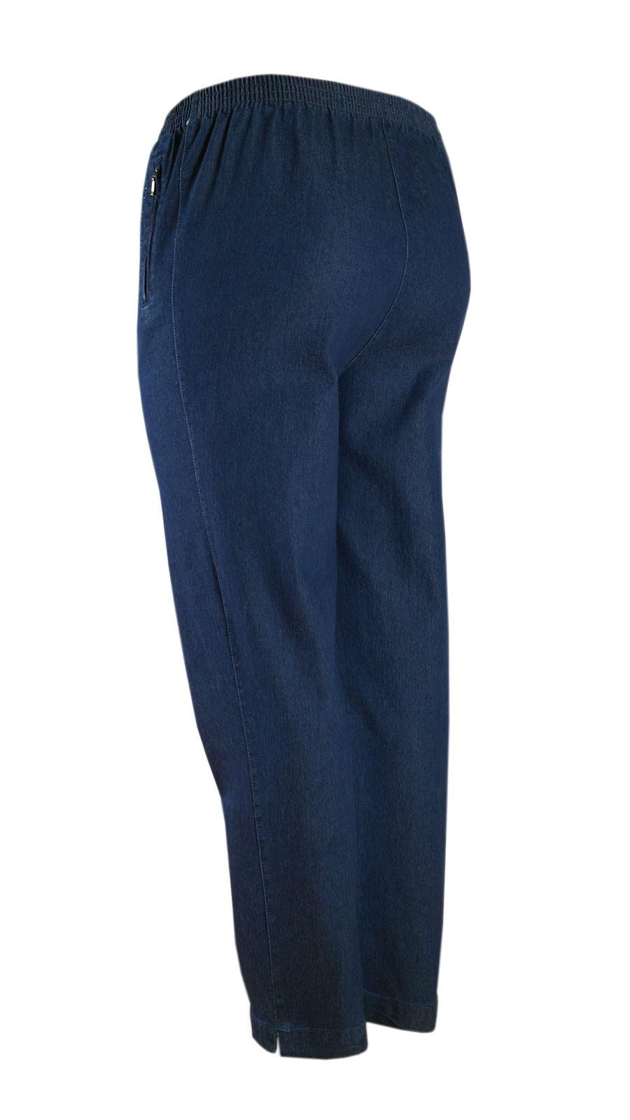 Damen Stretch Jeans Schlupfhose Schlupfjeans K-Größen - Herbst-Winter-Kollektion - blue