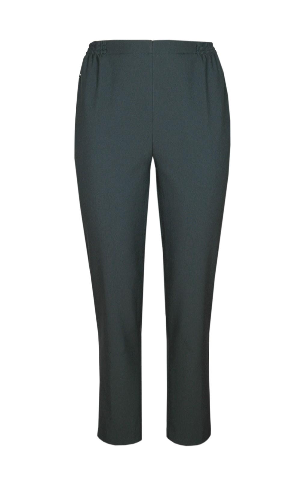 Damen Thermo Schlupfhose, warme Winterhose aus Doppelschicht Stoff, K-Größen anthraziz