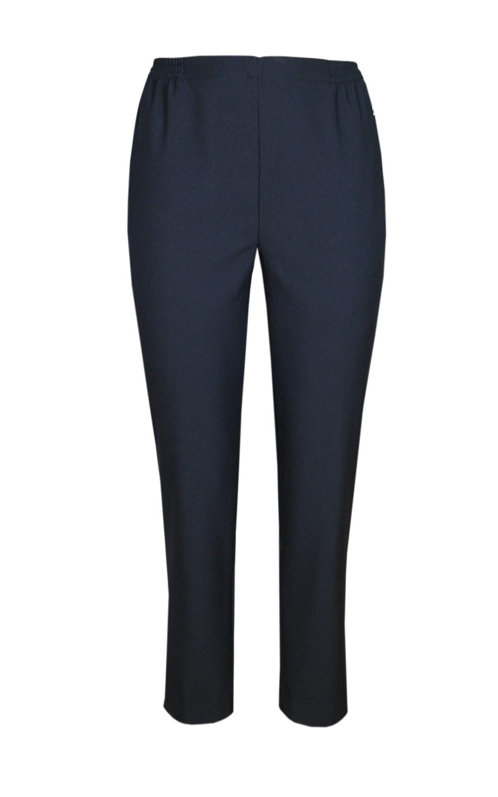 Damen Thermo Schlupfhose, warme Winterhose aus Doppelschicht Stoff, K-Größen navy