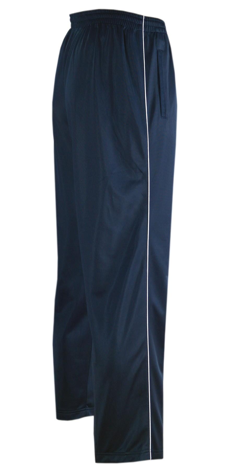 Glänzende Sporthose Herren Freizeit- Jogginghose in Kurzgrößen - dunkelblau