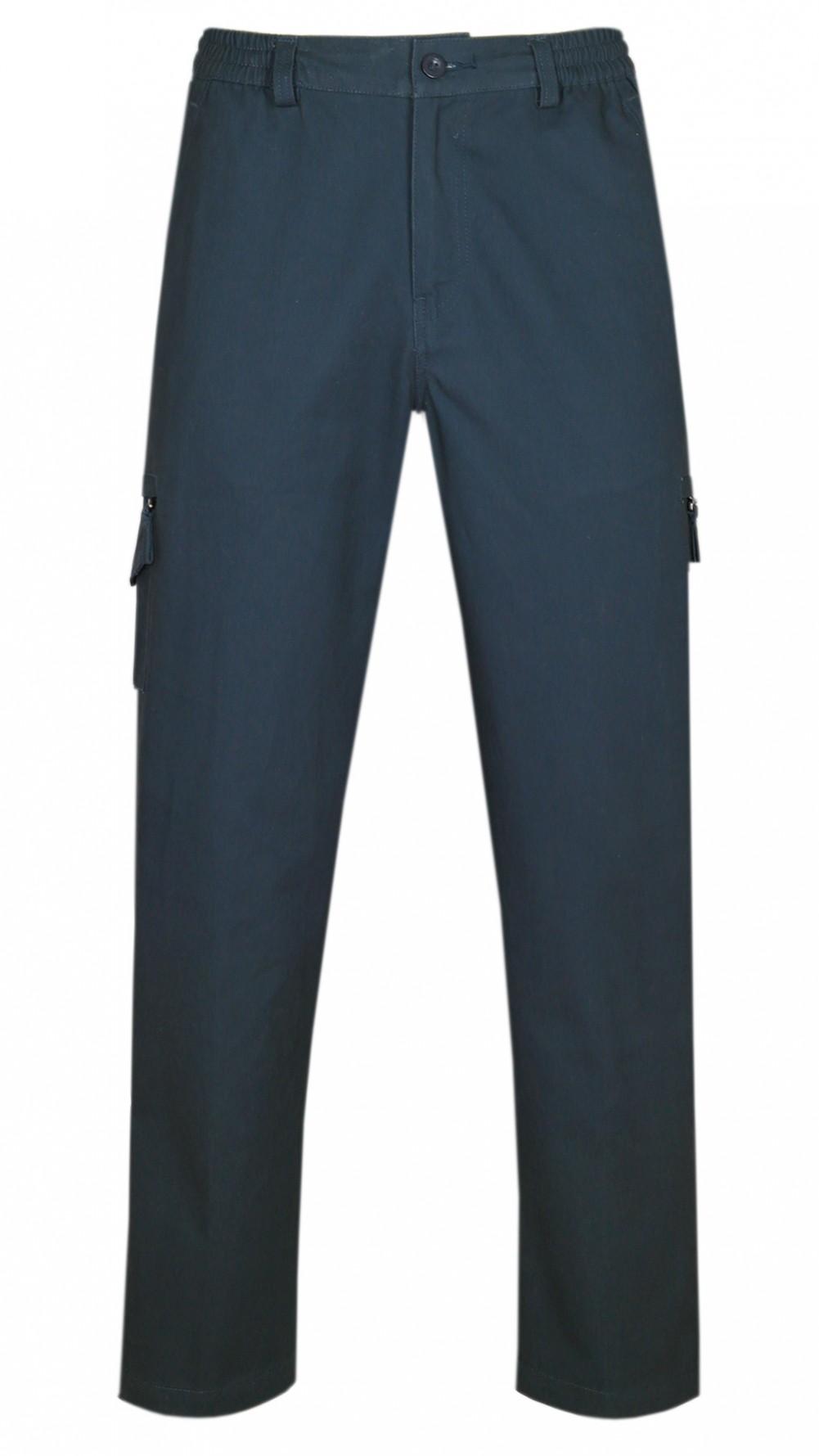 Dehnbund Hose Herren 100% Baumwolle - Navy
