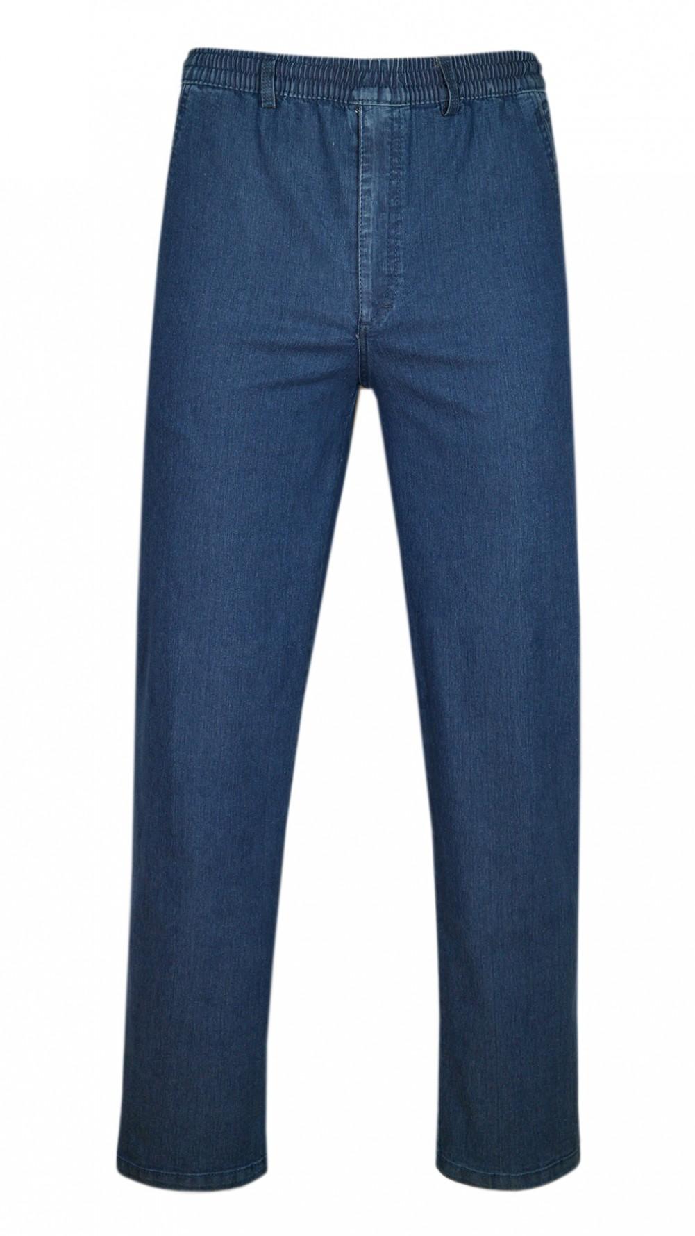 Stretch Jeans Schlupfhose ohne Cargotaschen Herbst-Kollektion - Blue