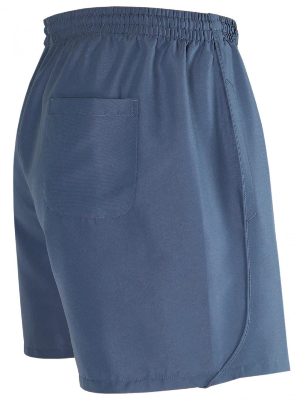 Herren Shorts kurze Hose aus ultra-leichter Mikrofaser - Grau
