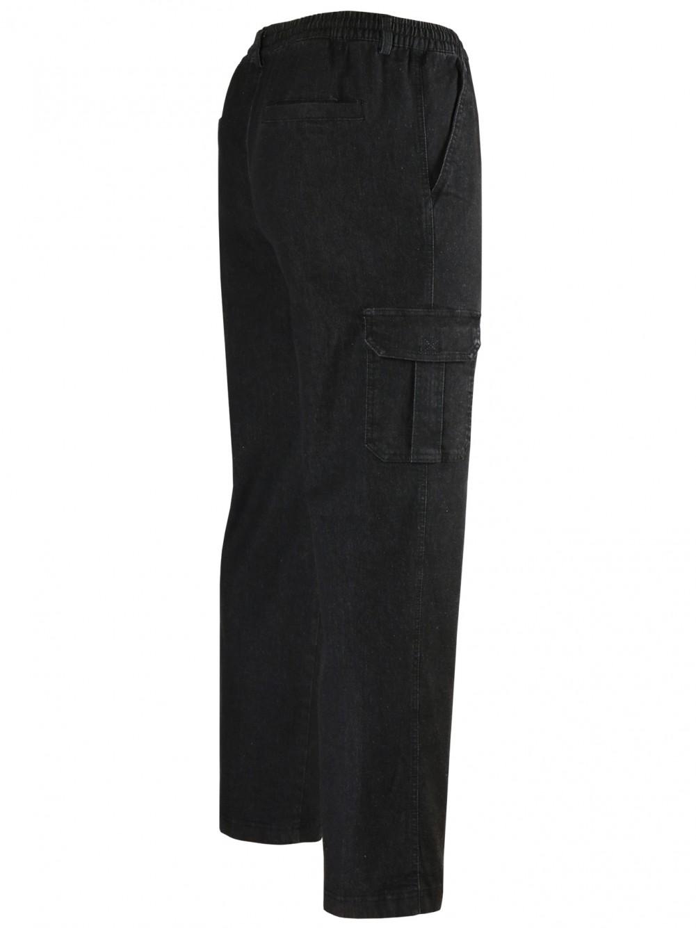 PAPADAY-Jeans Schlupfhosen - schwarz/Seitenansicht
