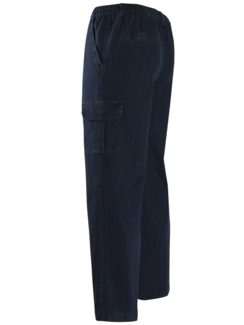 PAPADAY-Jeans Schlupfhosen - dunkelblau(seitenansicht