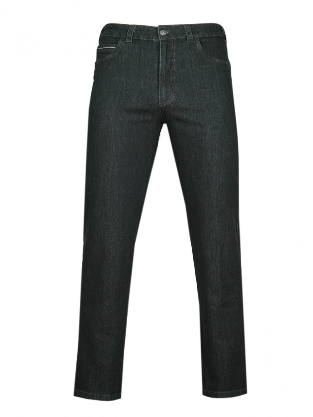 Stretch-Jeans, modische Stretchhosen für Herren - Black