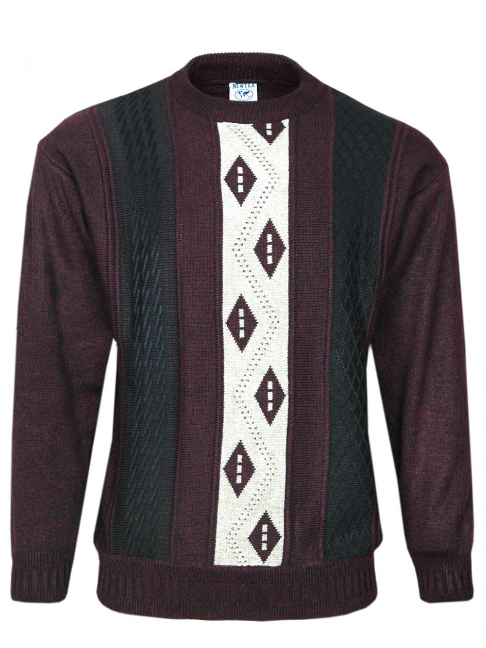 Herren Rundhalspullover Longsleeve Pullover
