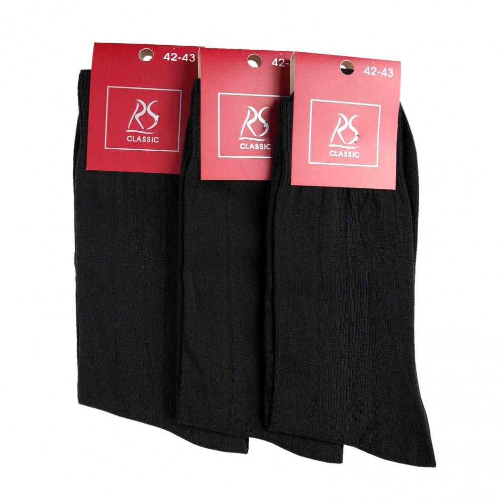 10 Paar Classic Cotton Herrensocken in schwarz