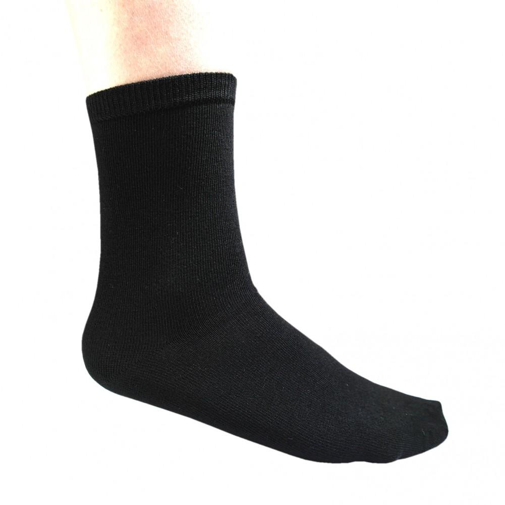 10 Paar Ladies Bamboo Socks Socken aus Bambusfarsern für Damen schwarz 3D ansicht
