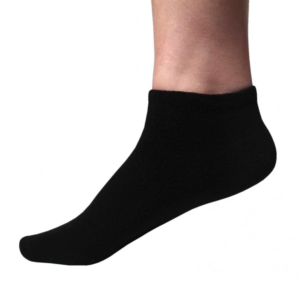 Damen Sneakersocken 10 Paar Schwarz