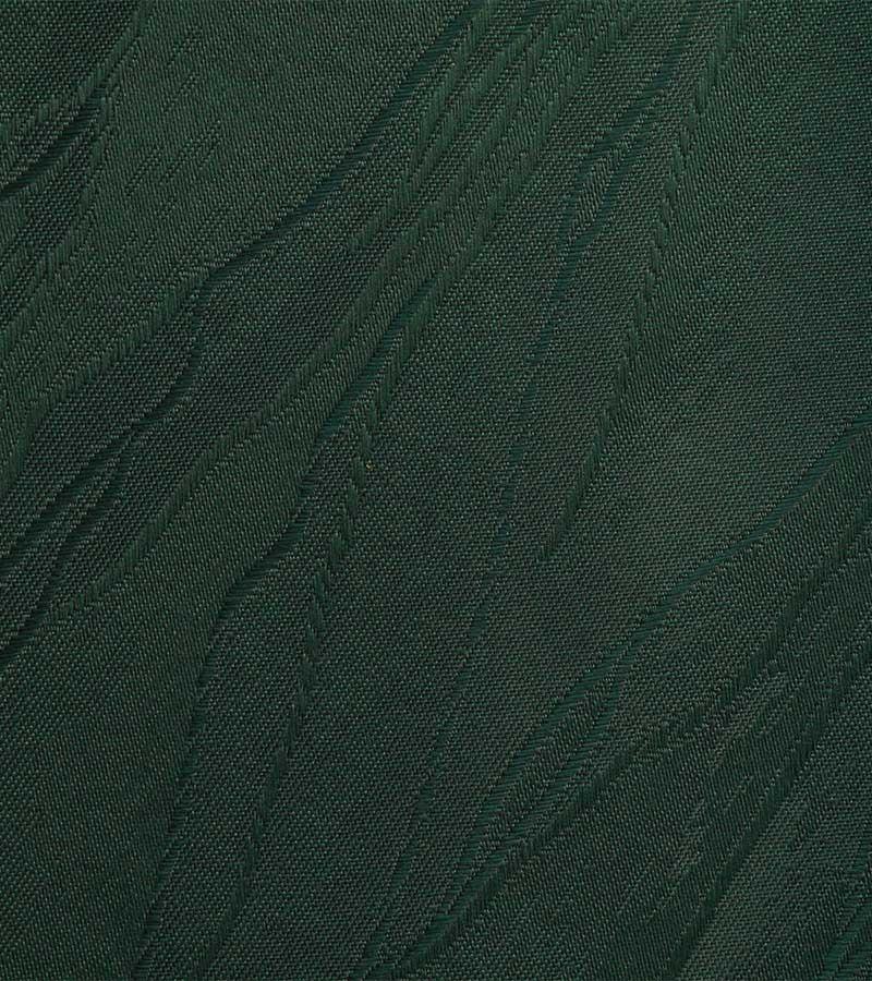 Oval Damast Tischdecken - grün