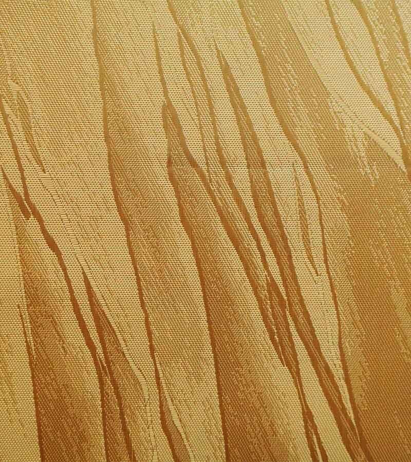 Oval Damast Tischdecken - goldgelb