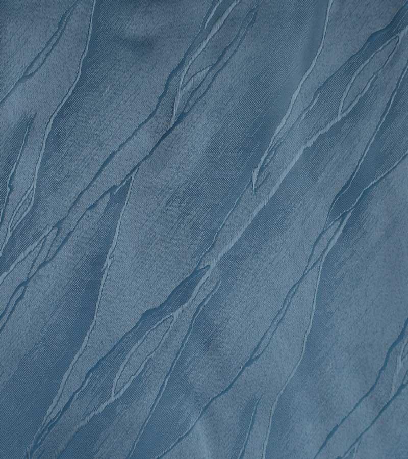 Oval Damast Tischdecken - blau