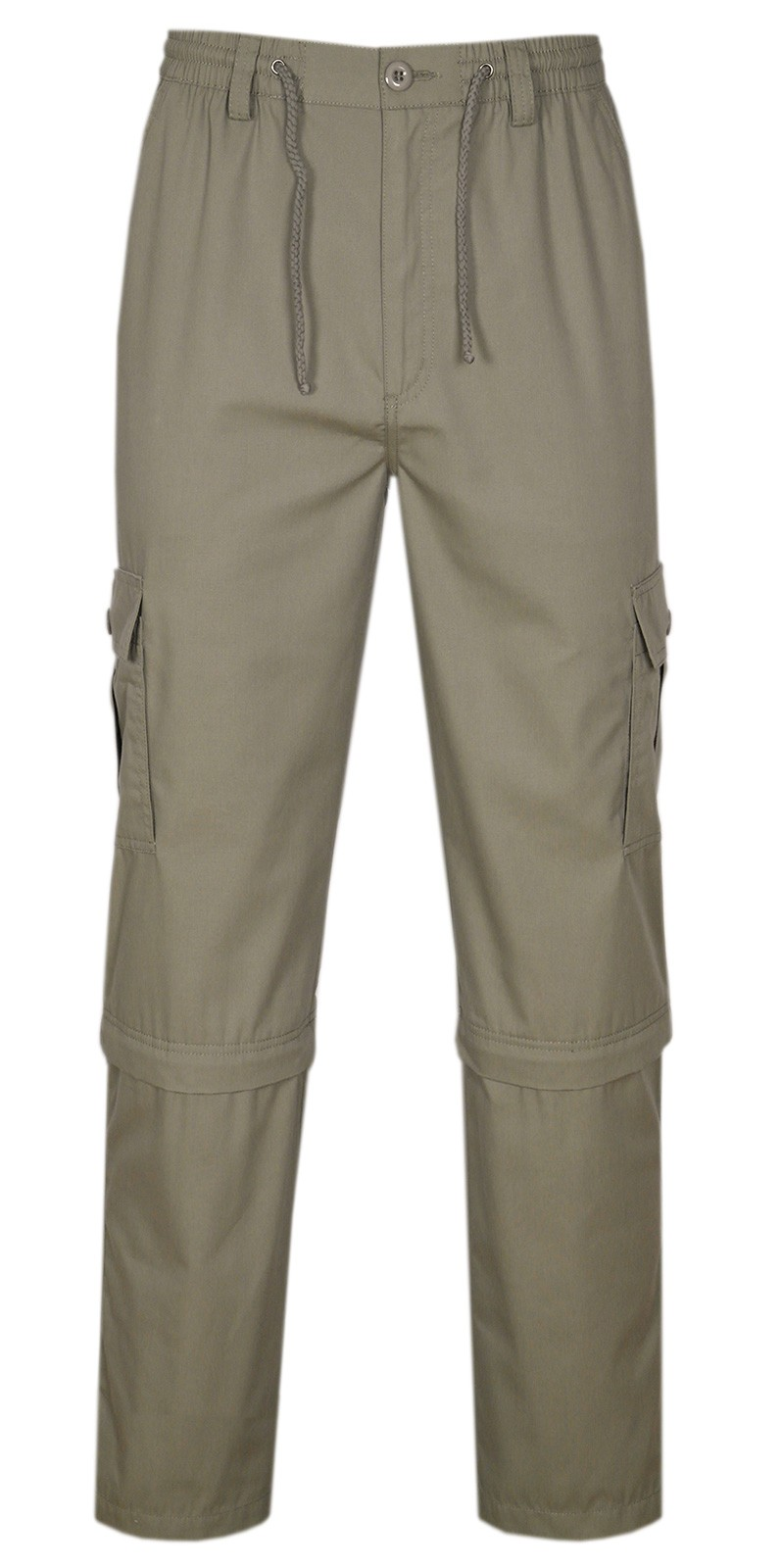 Herren Cargo Hose Zip Off - Tan
