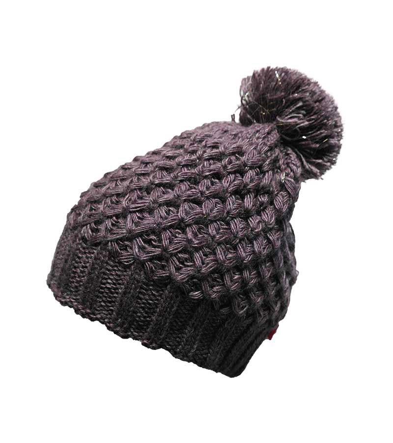 Mütze mit silber-Effekt - medium Purple