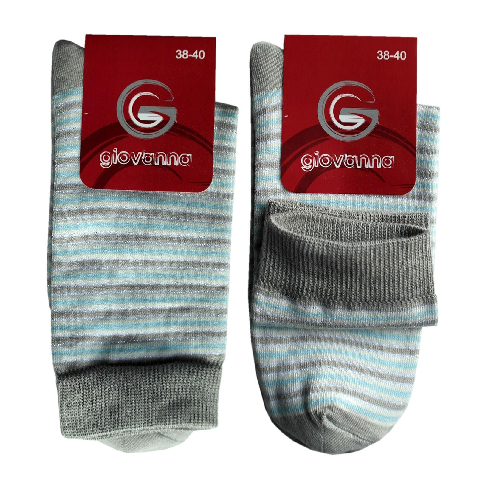 GIOVANNA Gestreifte Socken für Damen 10 Paar