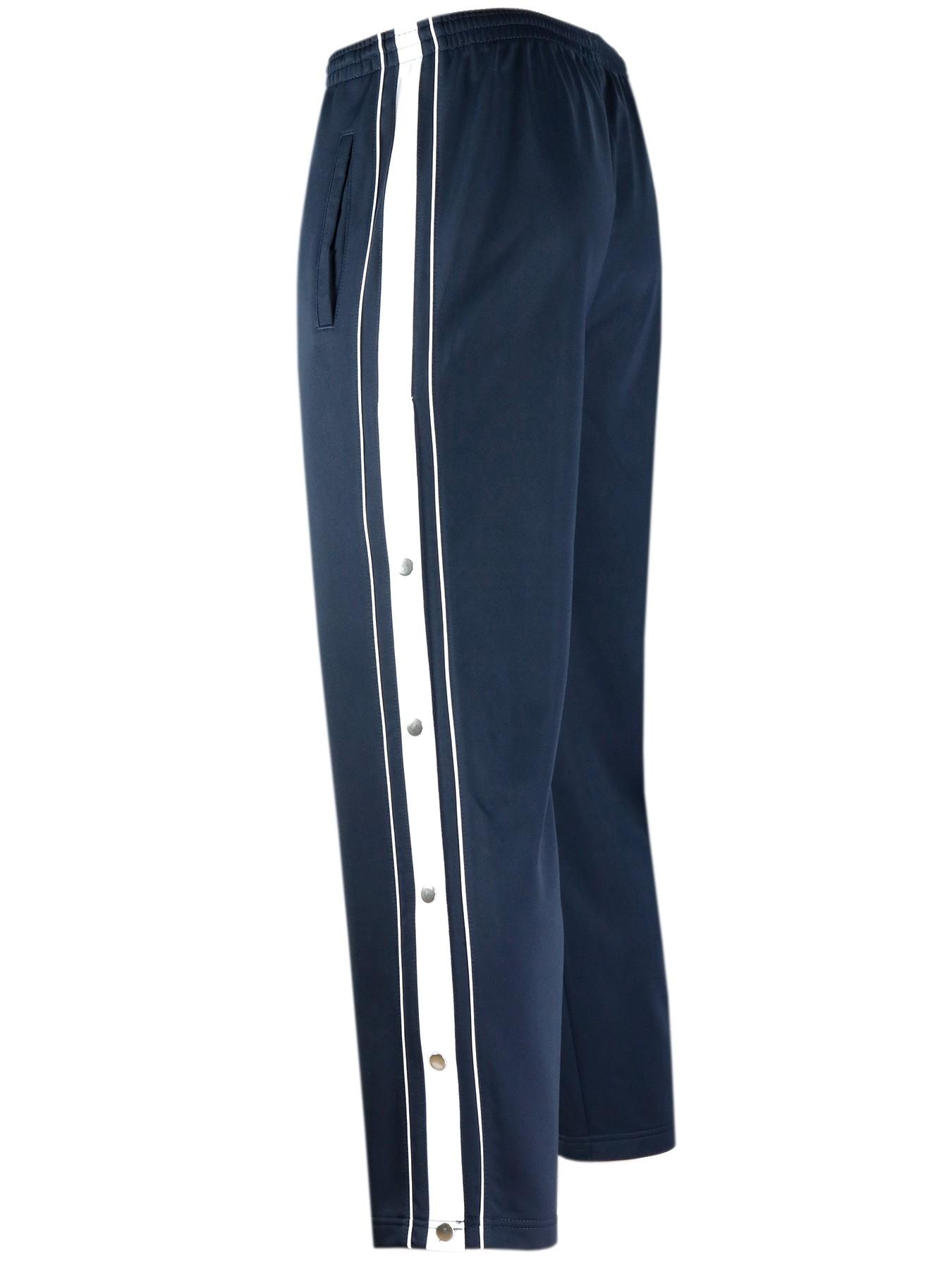 Herren Sporthose mit Seitenknopfleiste - Navy