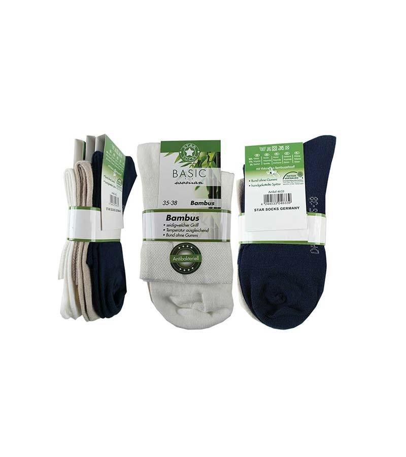 Bambus Socken 3 Paar