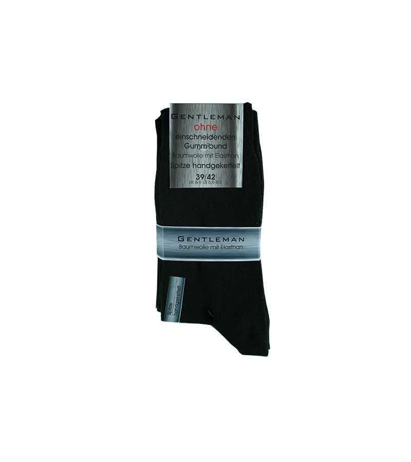 Schwarze Socken ohne Gummi 39-42
