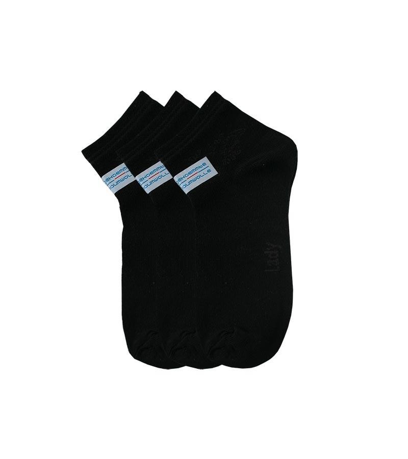 Schwarze Kurzsocken Damen 35-38