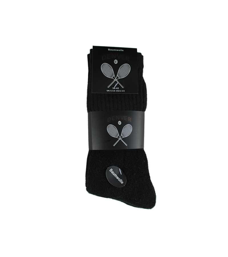 DENVER - Sportsocken in schwarz