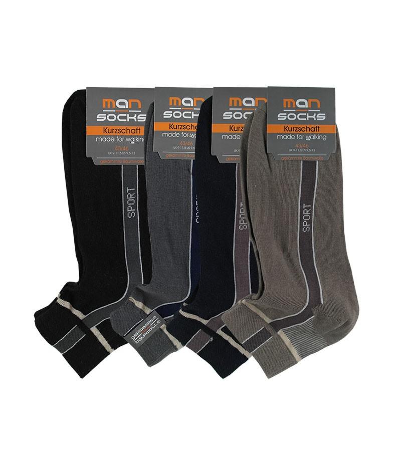 Sneaker Socken - MAN - Kurzschaft Baumwolle 39-42