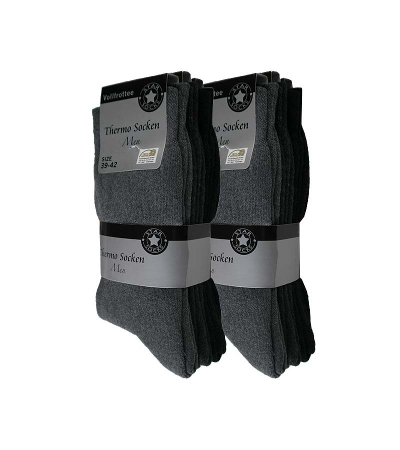 Vollfrottee Thermosocken Herren 43-46
