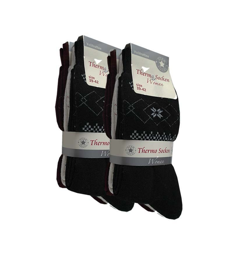 Damen - Thermosocken im 6er Pack 35/38