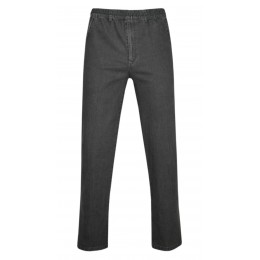 Stretch Jeans Schlupfhose ohne Cargotaschen Herbst-Kollektion - Grau