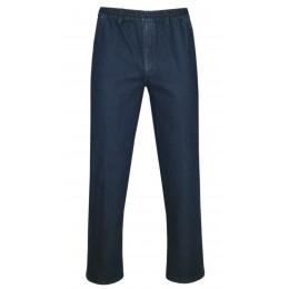 tretch-Thermo-Jeans Schlupfhose ohne Cargo-Taschen - Dunkelblau