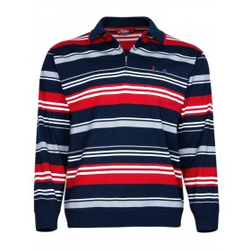 Herren Langarm-Poloshirts aus 100% Baumwolle