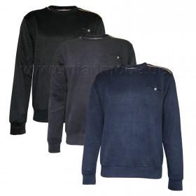 Sweatshirt, Sweater Pullover, Herren Shirt Pulli Langarmshirt 100% Baumwolle