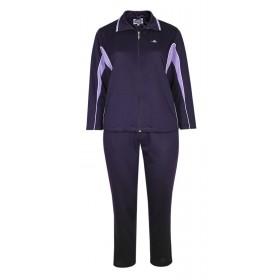 Damen Baumwoll Freizeit- Sportanzug Jogginganzug in fünf schönen Farbtönen