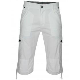 Herren Cargo-Bermudas in Capri Jeans-Style 100% Baumwolle