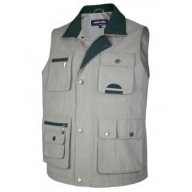 Herren Weste Outdoor Funktions-Weste Multi Taschen