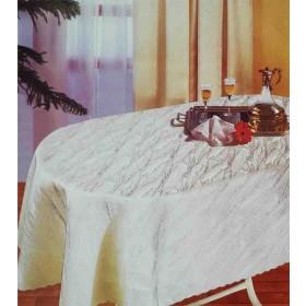 Oval Damast Tischdecken