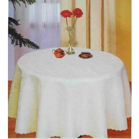 Runde Damast Tischdecken