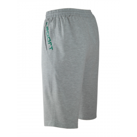 Herren Shorts Baumwoll Sweat-Bermuda