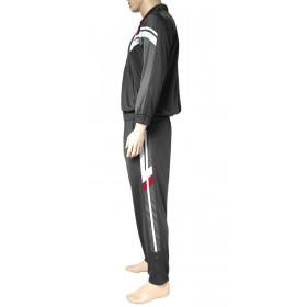 Herren Trainingsanzug Fitnessanzug mit elastischem Bund