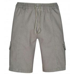 Herren Schlupf-Jeans Shorts kurze Hose aus Stretch Baumwolle